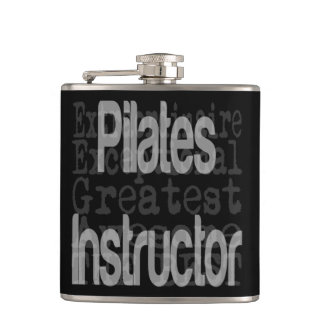 Pilates Instructor Extraordinaire Hip Flask