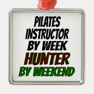 Pilates Instructor Hunter Metal Ornament