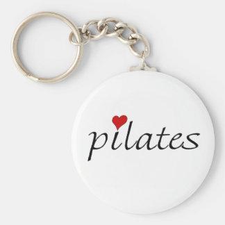 Pilates Keyring