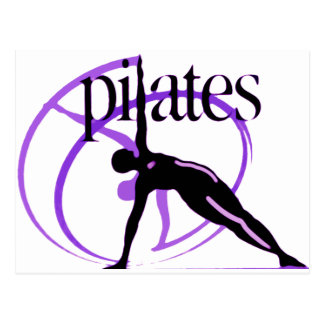 Pilates Method products! Postcard