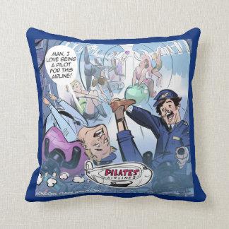 Pilates Pilots Funny Rick London Pillow