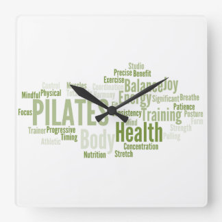 PILATES Wall Clock
