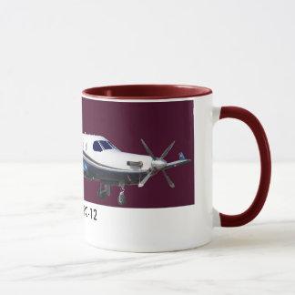 Pilatus PC-12 Portrait, Pilatus PC-12 Mug