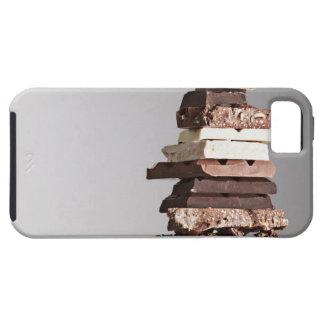 Pile de barres de chocolat iPhone 5 case