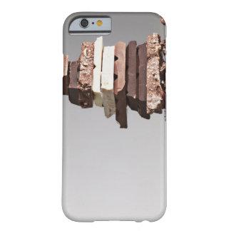 Pile de barres de chocolat coque iPhone 6 barely there