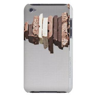 Pile de barres de chocolat étui barely there iPod