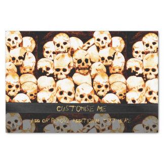 Pile-O-Skulls (Aged) Tissue Paper