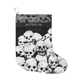 Pile-O-Skulls Large Christmas Stocking