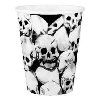 Pile-O-Skulls Paper Cup