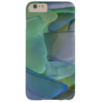 Pile of blue beach glass, Alaska Barely There iPhone 6 Plus Case