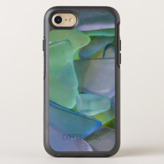 Pile of blue beach glass, Alaska OtterBox Symmetry iPhone 8/7 Case