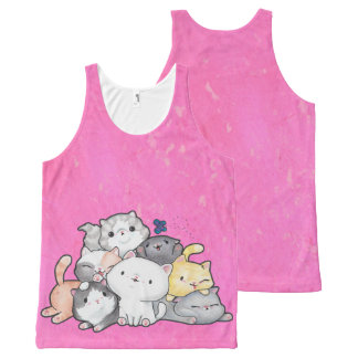 Pile of Kittens All-Over-Print Tank Top