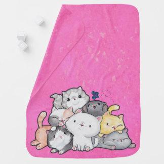 Pile of Kittens Baby Blanket