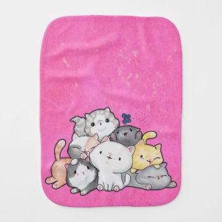 Pile of Kittens Burp Cloth