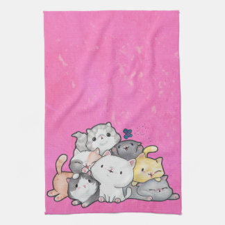 Pile of Kittens Kitchen Towel