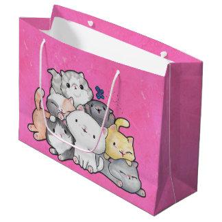 Pile of Kittens Large Gift Bag
