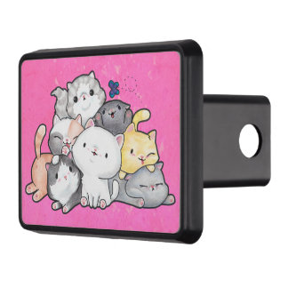 Pile of Kittens Trailer Hitch Cover