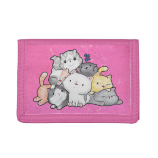 Pile of Kittens Tri-fold Wallet