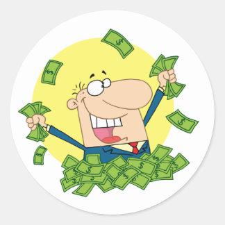 Pile of Money Stickers