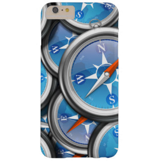 Pile of Nautical Compasses Barely There iPhone 6 Plus Case