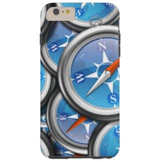 Pile of Nautical Compasses Tough iPhone 6 Plus Case