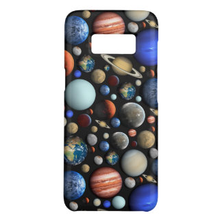Pile of Planets space themed pattern Case-Mate Samsung Galaxy S8 Case