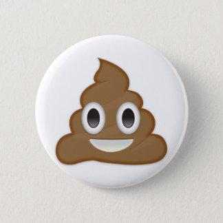Pile Of Poo Emoji 2 Inch Round Button