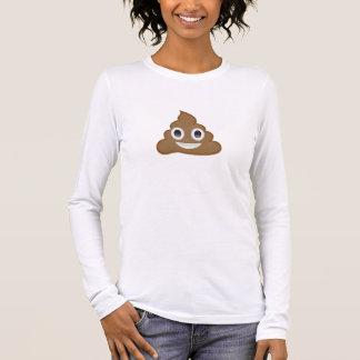 Pile Of Poo Emoji Long Sleeve T-Shirt