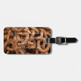 Pile of Rusty Chains Luggage Tag