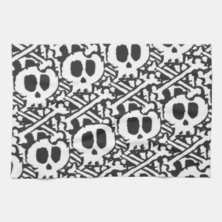 Pile of Skulls Hand Towel