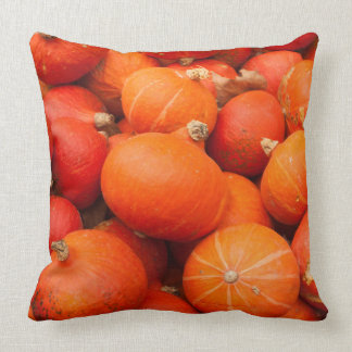 Pile of small pumpkins, Germany Throw Pillow