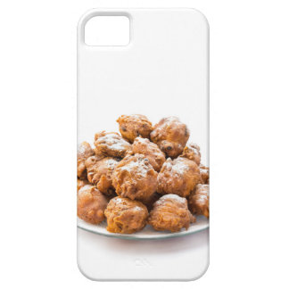 Pile of sugared oliebollen or fried fritters iPhone 5 covers