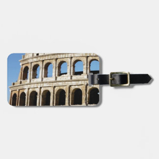 pile on the arches luggage tag