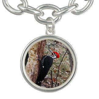 Pileated Woodpecker Charm Bracelets