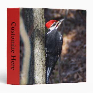 Pileated Woodpecker  EZD™ Ring Avery Binder