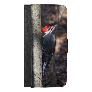 Pileated Woodpecker iPhone 6/6s Plus Wallet Case