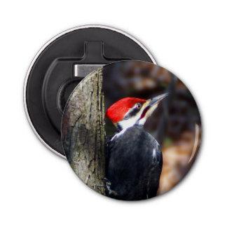 Pileated Woodpecker Magnet Backed Bottle Opener