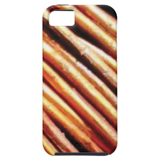 piles of copper pipes iPhone 5 case