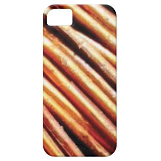 piles of copper pipes iPhone 5 cover