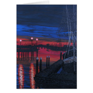 Pilgrim at dawn card