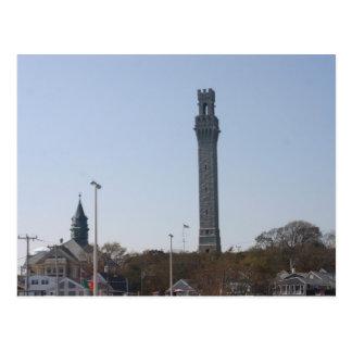 Pilgrim Monument - Provincetown, Ma. Postcard