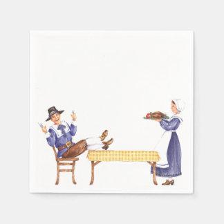Pilgrim Table - Napkins Disposable Napkin