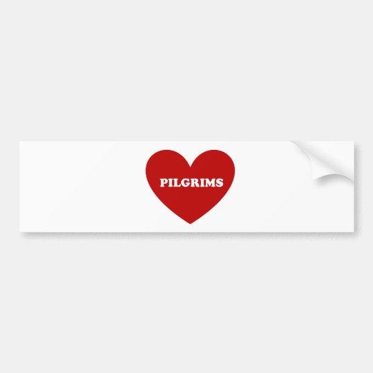 Pilgrims Bumper Sticker