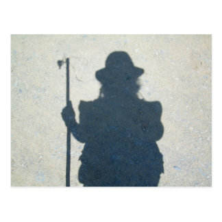 Pilgrim's Shadow Postcard