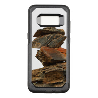 Piling Rocks OtterBox Commuter Samsung Galaxy S8 Case