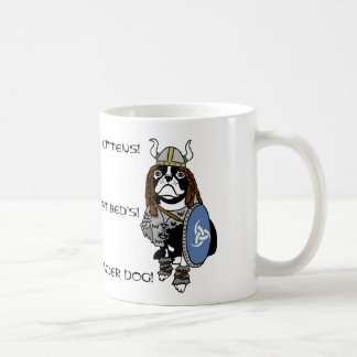 Pillage The Kittens! Viking Dog Mug