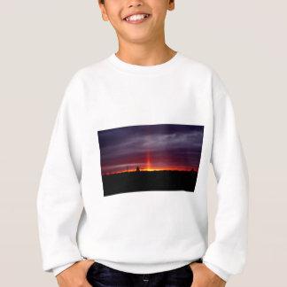 Pillar of Fire at Sunset, St Joseph Island Sweatshirt