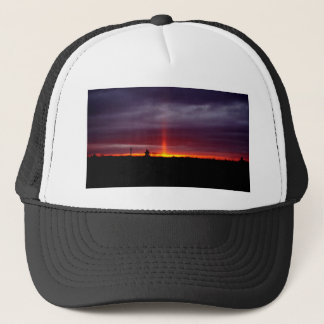 Pillar of Fire at Sunset, St Joseph Island Trucker Hat