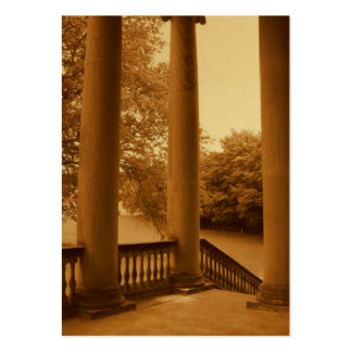 Pillars at Dusk Large Business Card