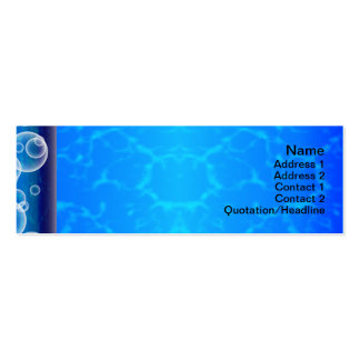 Pillars Pack Of Skinny Business Cards
